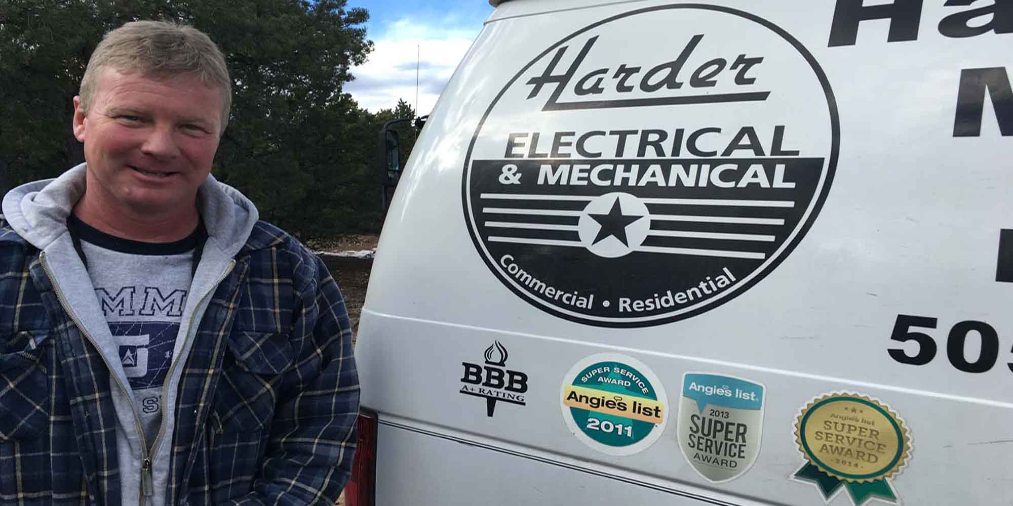 With Harder Electrical & Mechanical, you can always expect a friendly face